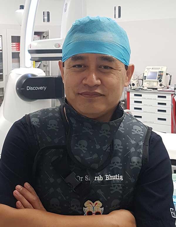 Dr Sherab G Bhutia